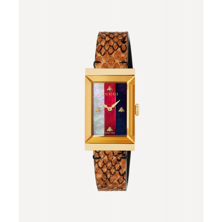 新作人気 グッチ Strap Gucci レディース 腕時計 Gucci G-Frame Snakeskin 腕時計 Strap Watch, I-SHOP「Y」 カシミヤニット:429557aa --- airmodconsu.dominiotemporario.com
