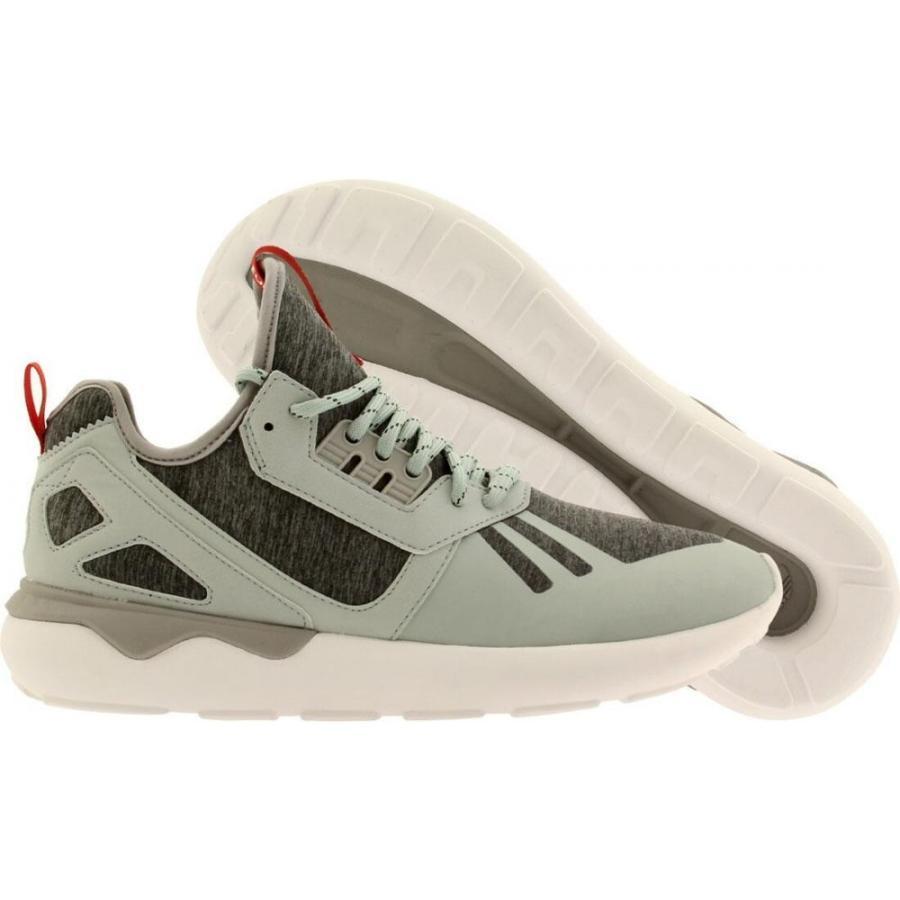 アディダス Adidas メンズ シューズ・靴 ランニング・ウォーキング Tubular Runner Weave gray / mist slate / tomato / 白い
