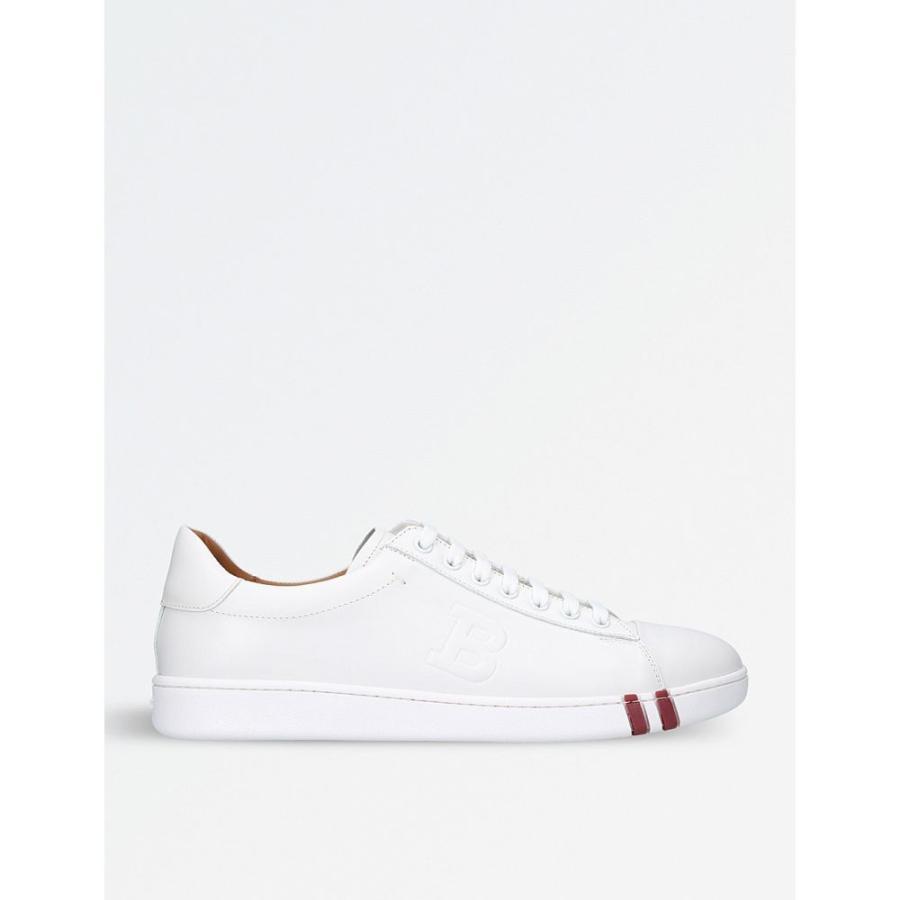 【限定セール!】 バリー BALLY メンズ テニス trainers シューズ・靴 Asher WHITE leather tennis メンズ trainers WHITE, ラミネート専門店TOSショップ:132cf3d4 --- airmodconsu.dominiotemporario.com