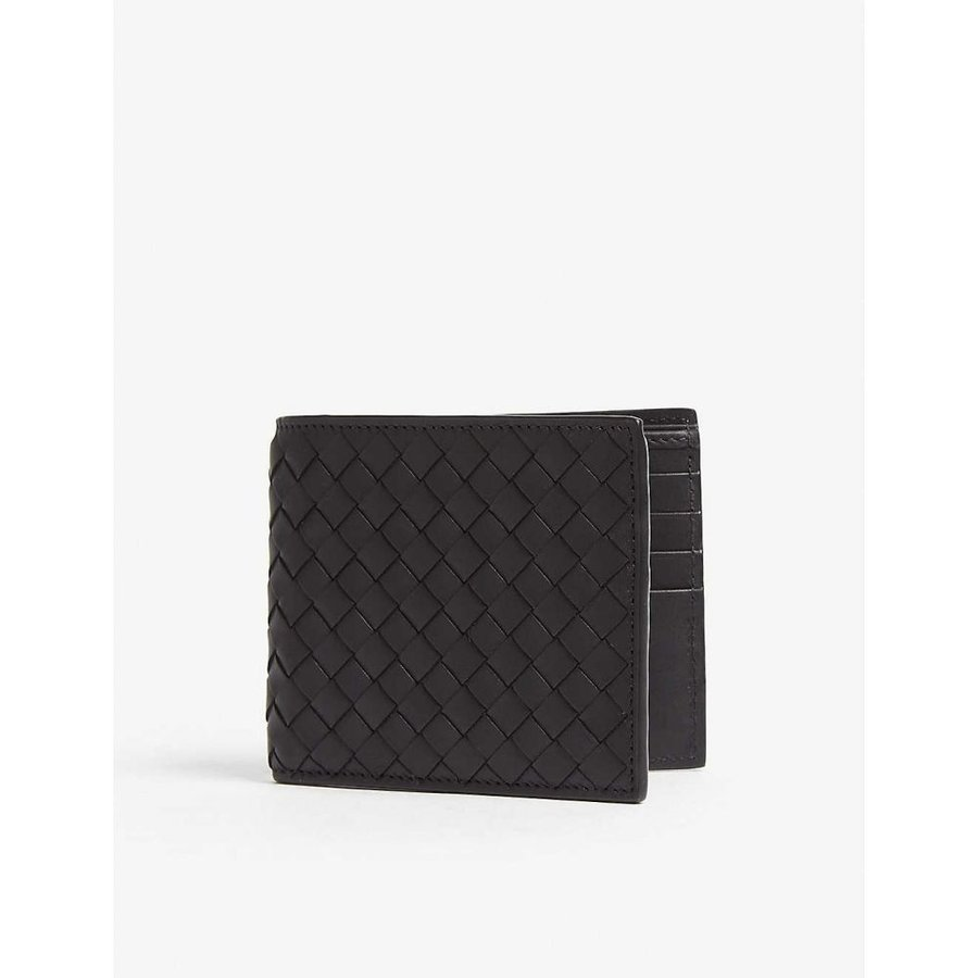 【コンビニ受取対応商品】 ボッテガ ヴェネタ BOTTEGA VENETA レディース 財布 wallet Intrecciato VENETA woven レディース leather billfold wallet Black, 姶良町:5ddbe04d --- chizeng.com