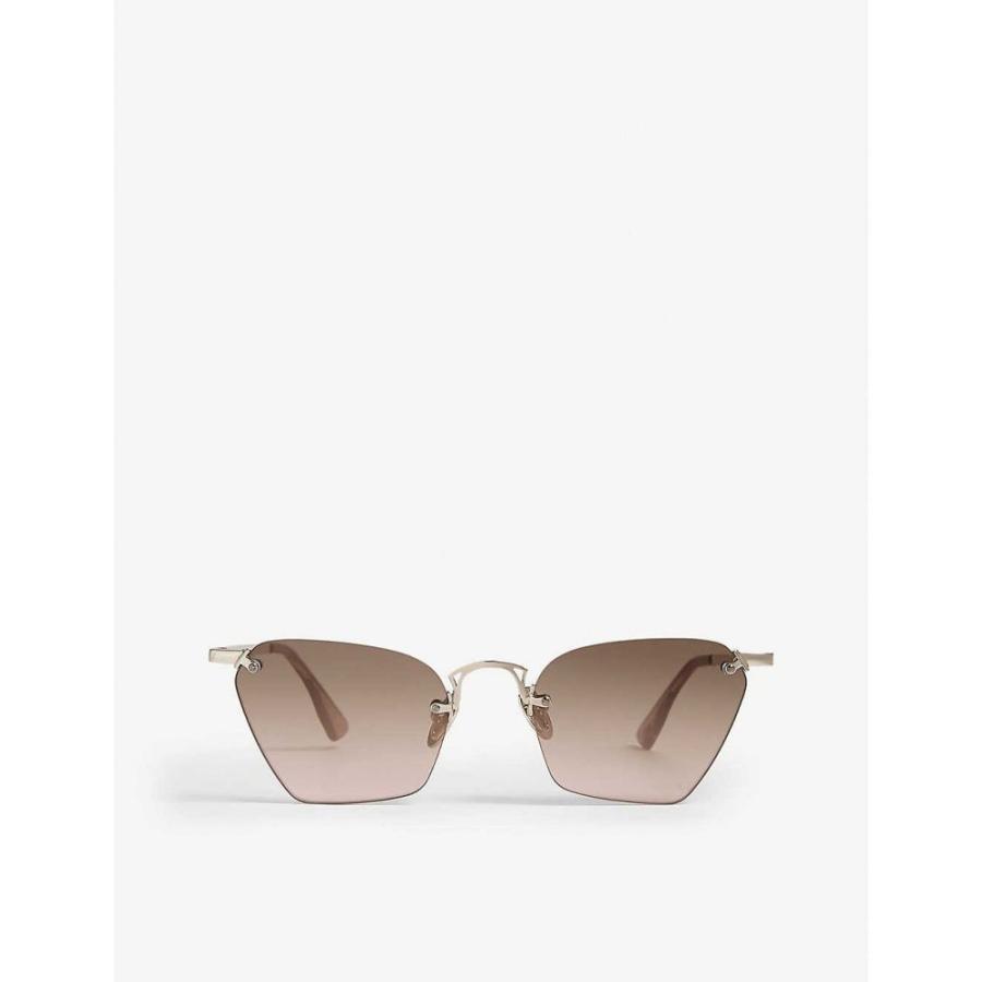 【T-ポイント5倍】 ル スペックス LE SPECS レディース SPECS メガネ・サングラス スペックス Pit Stop Stop sunglasses Rose gold vintage mirror, フクロイシ:a66f1679 --- sonpurmela.online