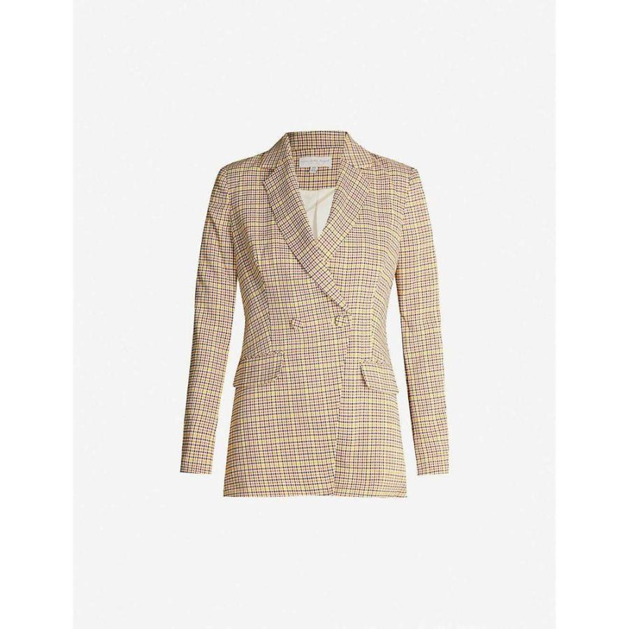 【半額】 ネバーフリードレス NEVER FULLY DRESSED レディース スーツ・ジャケット アウター Dynasty woven blazer CHECK, 枝幸郡 fe951e02