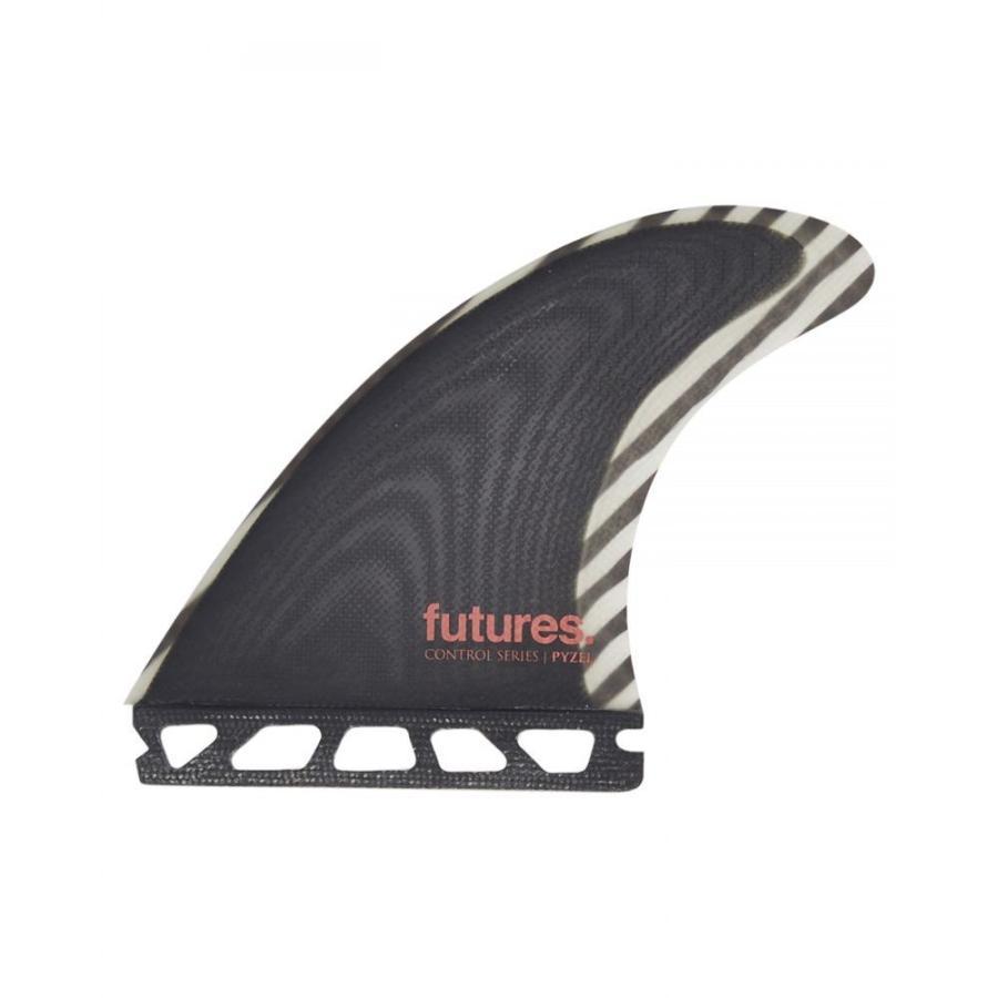 フューチャー フィン Future fins ユニセックス サーフィン Pyzel Medium Fg Control Series Fin 白い