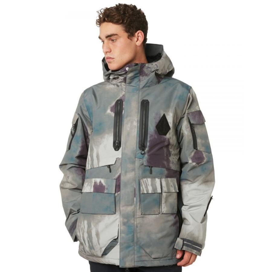 ボルコム Volcom メンズ アウター スキー・スノーボード Lynx Insulated Snow Jacket Grey vintage