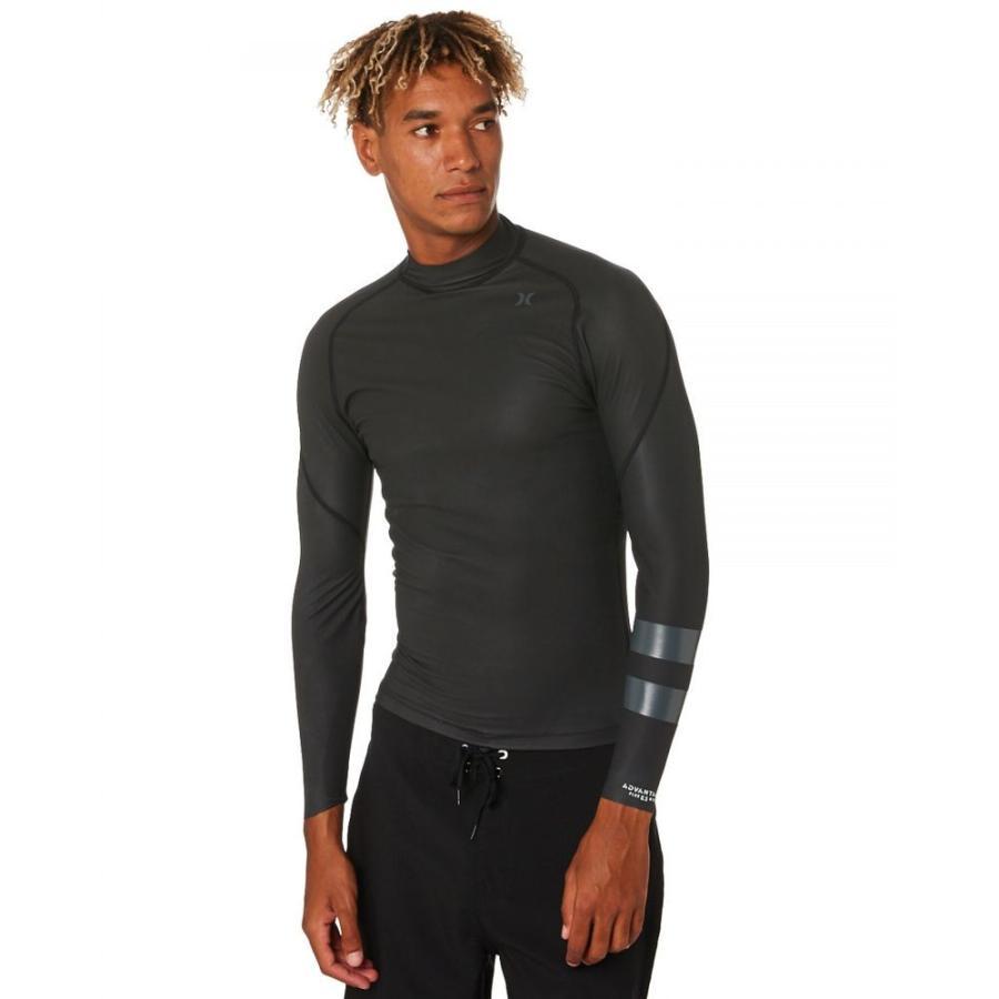 【年間ランキング6年連続受賞】 ハーレー Hurley メンズ サーフィン ジャケット ウェットスーツ Advantage Plus 0-5Mm Windskin Wetsuit Jacket Black, マクラザキシ 4d801def
