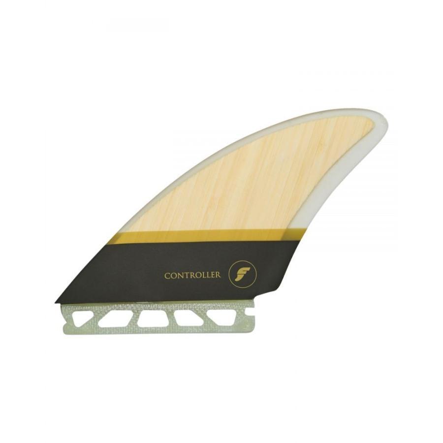フューチャー フィン Future fins ユニセックス サーフィン Controller Hc Quad Fins Bamboo 褐色osfa