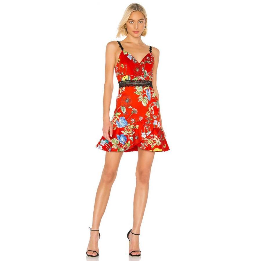 アリス アンド オリビア Alice + Olivia レディース ワンピース ワンピース・ドレス Kirby Spaghetti Strap Dress Seine Garden