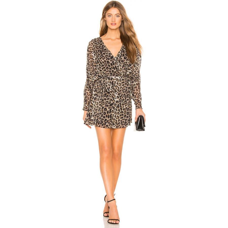 エルピーエー LPA レディース ワンピース ワンピース・ドレス Liliana Mini Dress Leopard