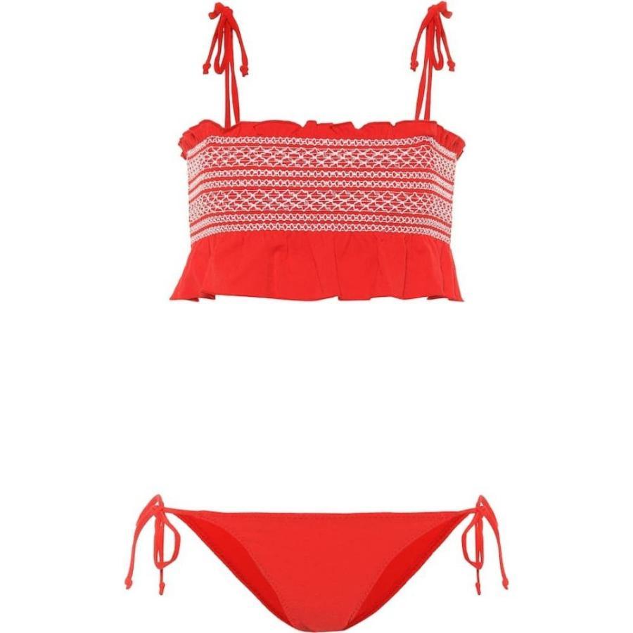 00568e80b1a リサ マリー フェルナンデス 上下セット レディース 上下セット 水着·ビーチウェア Selena smocked Tomato bikini  bikini Tomato :hb4-p00296251:フェルマート fermart ...