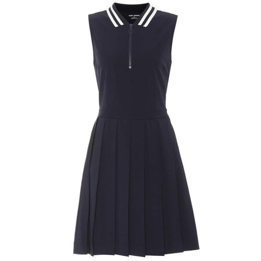 トリー バーチ Tory Sport レディース トップス ゴルフ Pleated golf dress Tory Navy