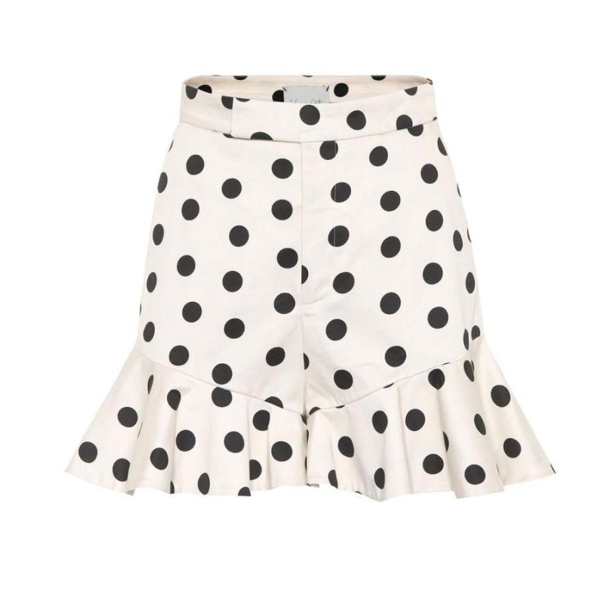 1着でも送料無料 ジョアンナオッティ Johanna Ortiz レディース Dots ショートパンツ ボトムス・パンツ San Ecru Blas Blas polka-dot cotton shorts Ecru Black Dots, eSPORTS eケンコー支店:037f1162 --- chizeng.com