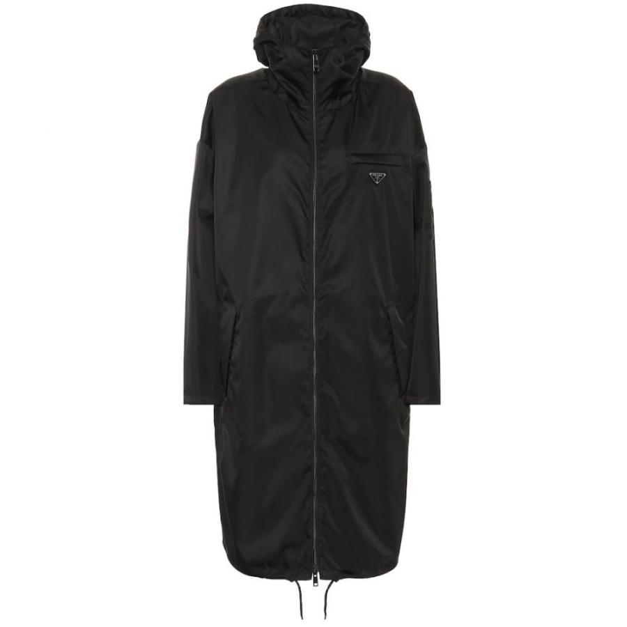 【激安セール】 プラダ Prada レディース コート coat nylon アウター Hooded アウター nylon coat black, モコペット:bb989c9b --- levelprosales.com