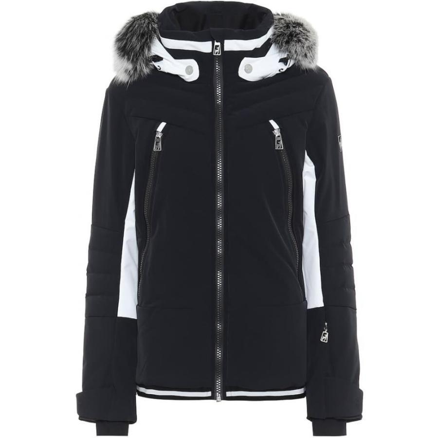 2019特集 トニー ザイラー Toni Toni Sailer レディース スキー jacket・スノーボード ジャケット アウター ジャケット Luna fur-trimmed ski jacket Black, ポタジェガーデン:43477023 --- airmodconsu.dominiotemporario.com