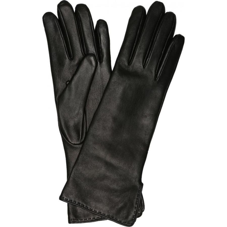 ロロピアーナ Loro Piana レディース 手袋·グローブ Leather gloves Black