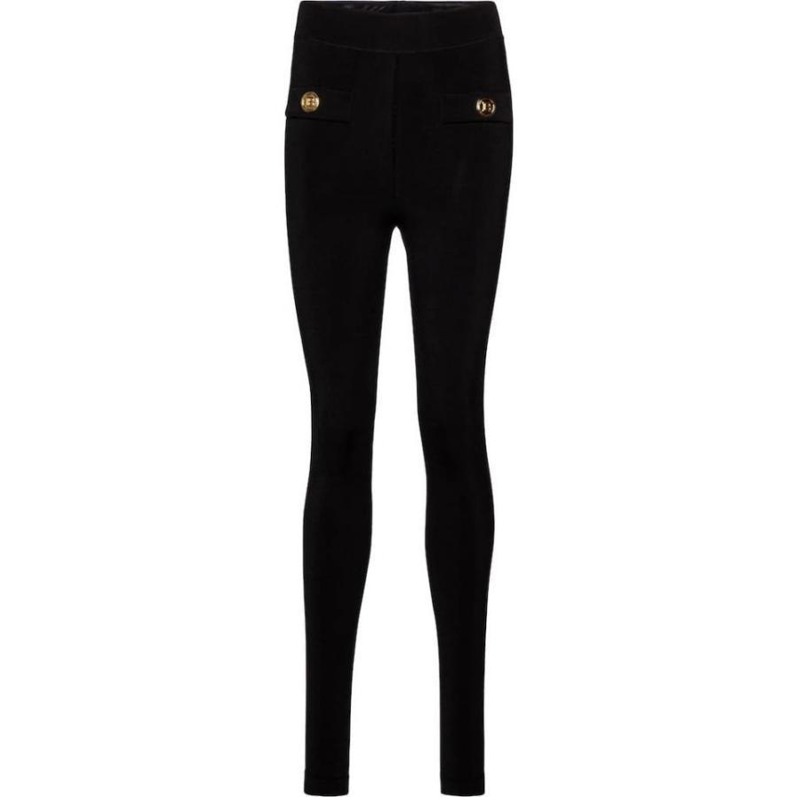 バルマン Balmain レディース スパッツ·レギンス インナー·下着 Knitted leggings Noir