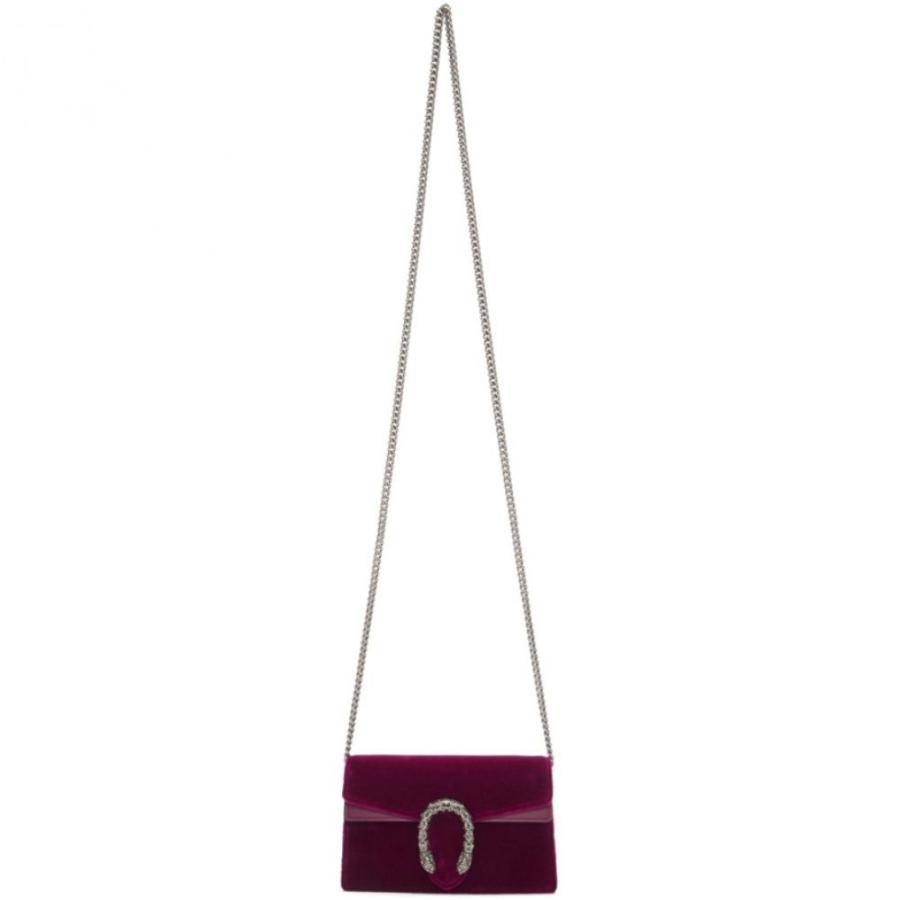 【正規販売店】 グッチ Gucci レディース バッグ Purple Velvet Super Mini Dionysus Bag, 大岡村 fe7cfc65