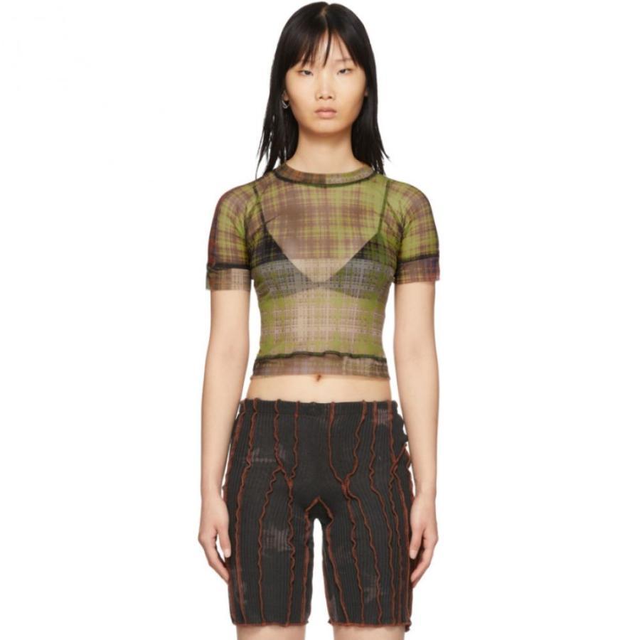 人気商品は オットリンガー Ottolinger レディース トップス Tシャツ Ottolinger T-Shirt トップス Multicolor Mesh T-Shirt, 画材ショップ カワチ:a6be45c3 --- chizeng.com