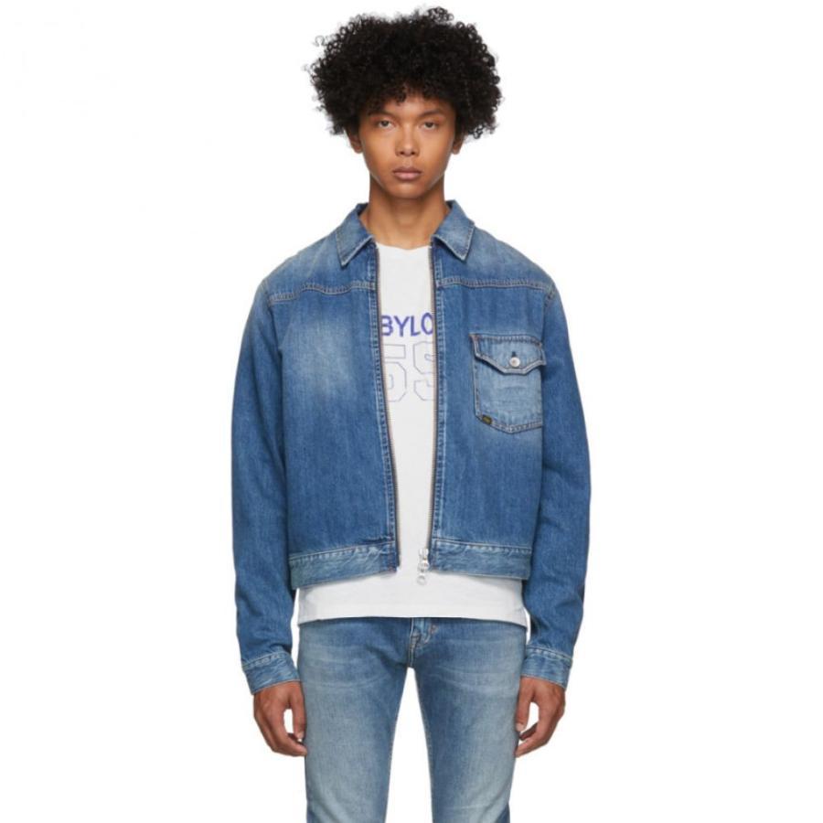 魅力的な タイガー オブ スウェーデン Denim Tiger アウター of Zip Sweden Jeans メンズ ジャケット アウター Blue Denim Ry Zip Jacket Ray, Ecclesia(エクレシア):4c3de2ee --- lighthousesounds.com