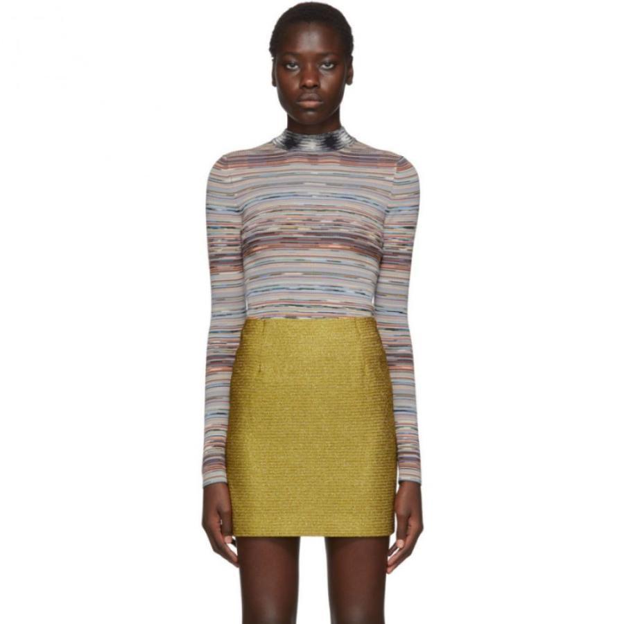 日本製 ミッソーニ Missoni ミッソーニ レディース ニット・セーター Missoni トップス Mutlicolor Wool Striped トップス Sweater, アルシェ Arche Selection:0358e64d --- chizeng.com