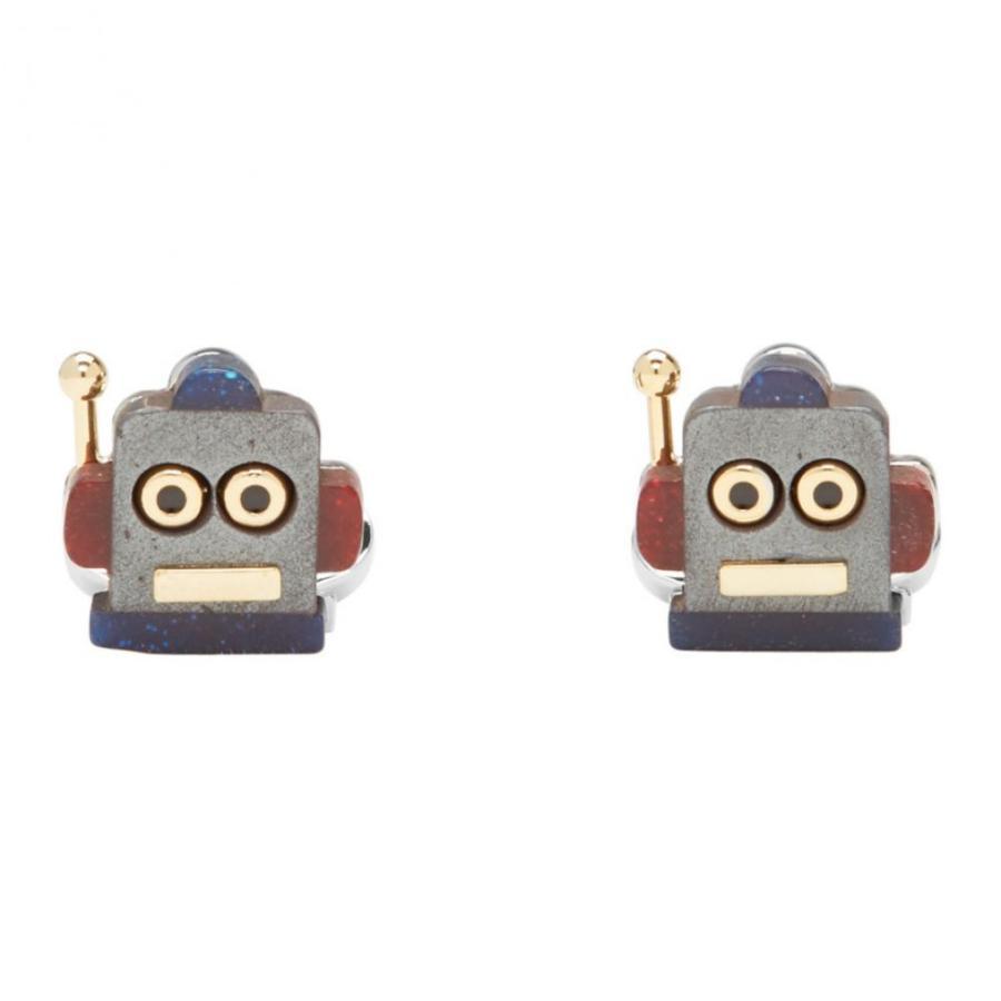 2019高い素材  ポールスミス Paul Cufflinks Smith メンズ カフス Smith・カフリンクス Multicolor Robot Head Head Toy Cufflinks, マルトクショップ:b5f75129 --- airmodconsu.dominiotemporario.com
