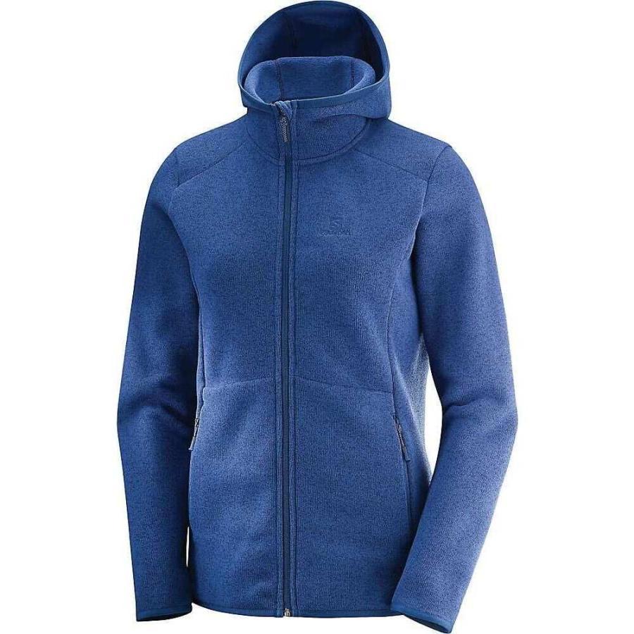 非売品 サロモン Salomon レディース スキー hoodie・スノーボード Salomon パーカー トップス bise トップス hoodie Medieval Blue Heather, 名入れスイーツの店クレープ工房:81f66a77 --- persianlanguageservices.com