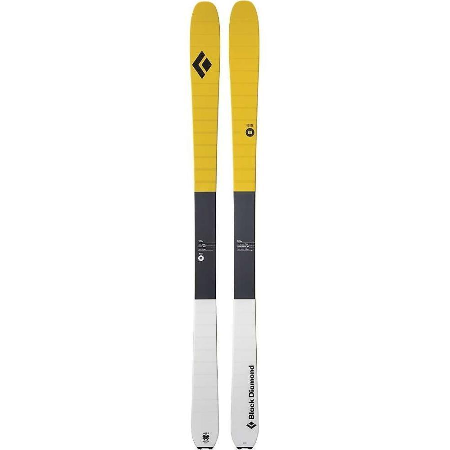 ブラックダイヤモンド 黒 Diamond ユニセックス ボード・板 スキー・スノーボード Route 88 Skis Ochre