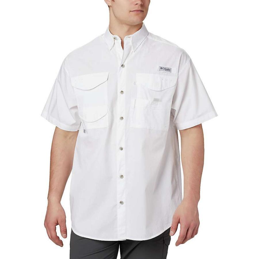コロンビア Columbia メンズ トップス ハイキング・登山 Bonehead SS Shirt White