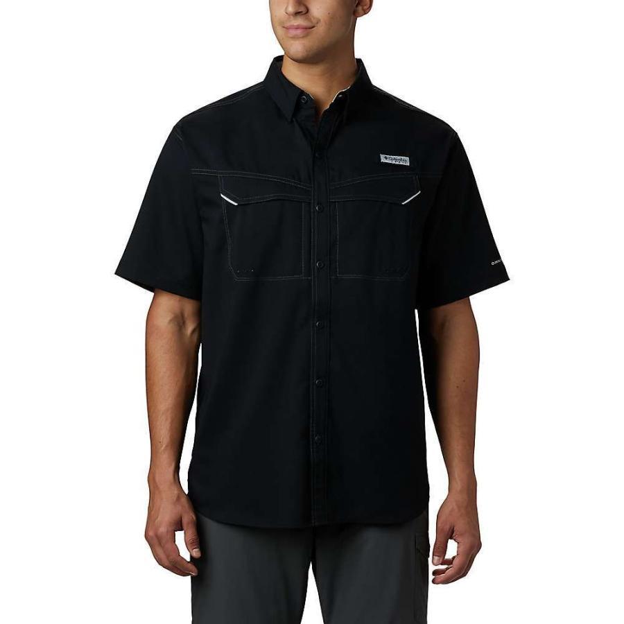 コロンビア Columbia メンズ トップス ハイキング・登山 Low Drag Offshore SS Shirt Black