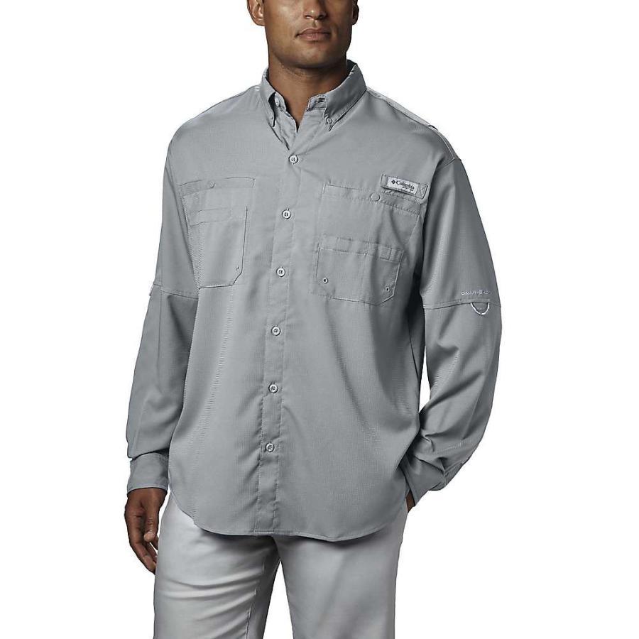 コロンビア Columbia メンズ トップス ハイキング・登山 Tamiami II LS Shirt Cool Grey