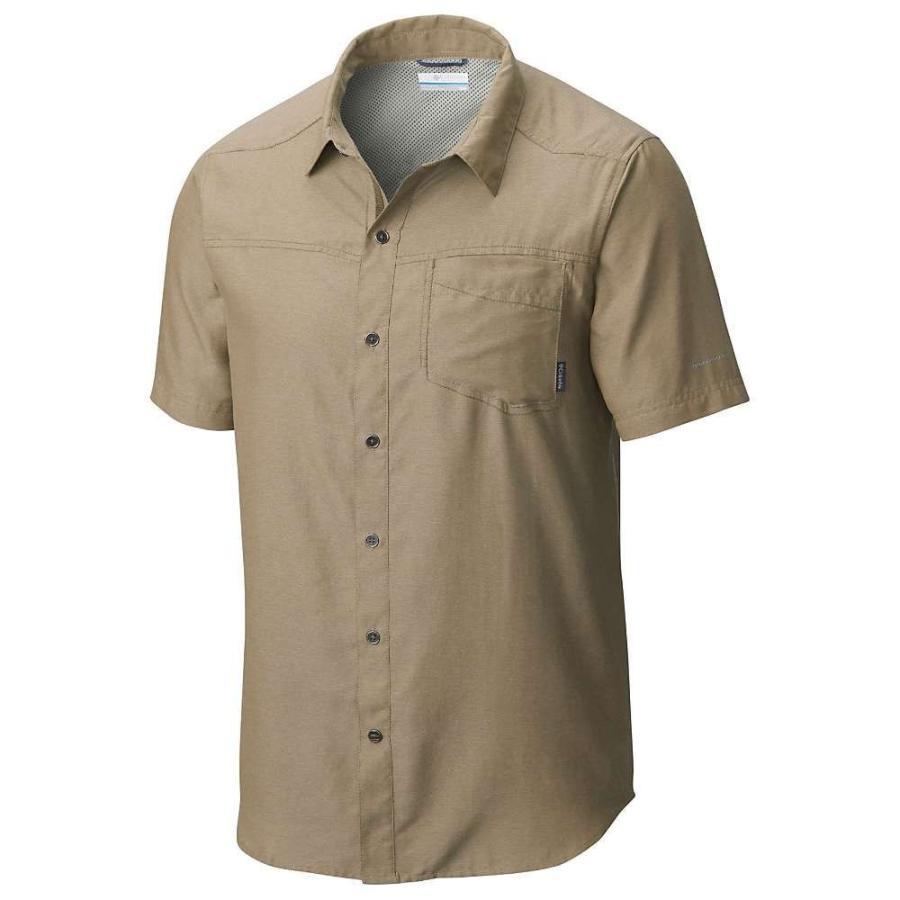 コロンビア Columbia メンズ トップス ハイキング・登山 Pilsner Peak II SS Shirt British Tan