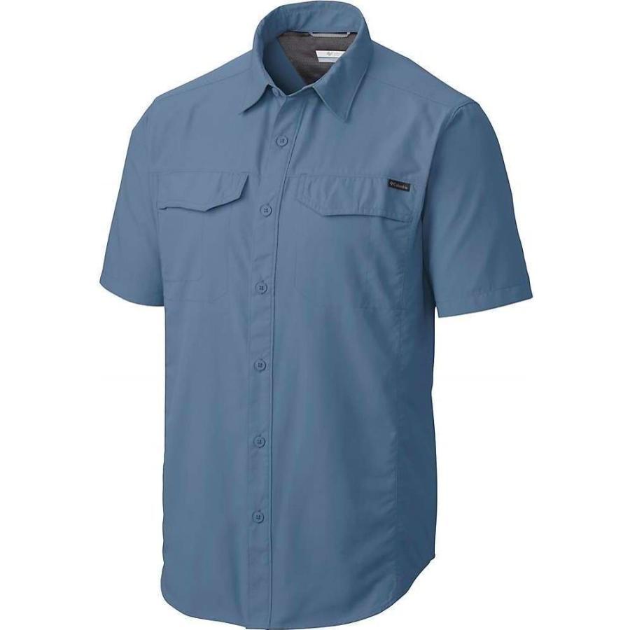 コロンビア Columbia メンズ ハイキング・登山 半袖シャツ トップス 銀 Ridge SS Shirt Steel