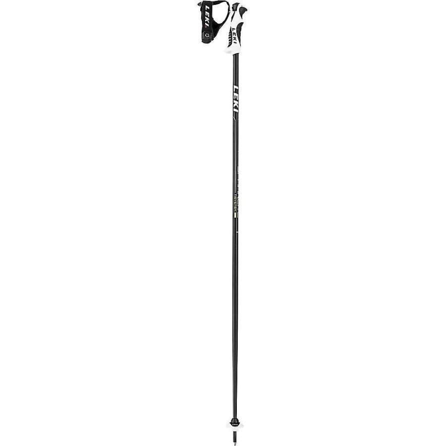 レキ Leki ユニセックス スキー・スノーボード Spark Lite S Ski Pole Anthracite / 緑