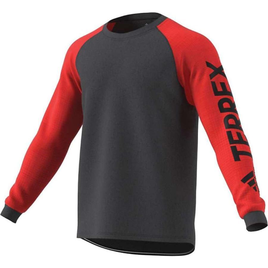 史上一番安い アディダス Adidas メンズ ランニング・ウォーキング トップス terrex trailcross ls top Hi-Res Red/Carbon, トツカワムラ efda8f5e