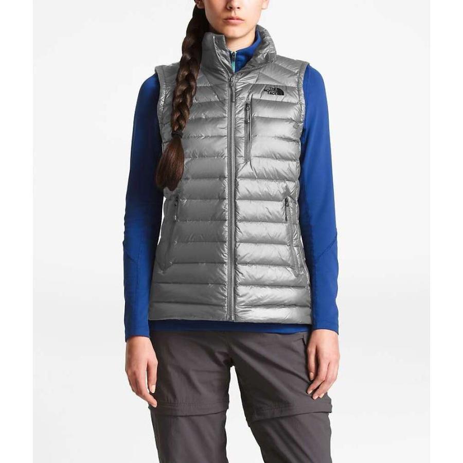 特価 ザ ノースフェイス The North Face レディース スキー・スノーボード ベスト・ジレ アウター Morph Vest Mid Grey, r2-style 1d9cb142