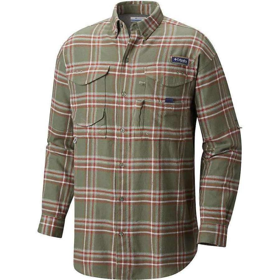 コロンビア Columbia メンズ トップス ハイキング・登山 Bonehead Flannel LS Shirt Cypress Large Plaid