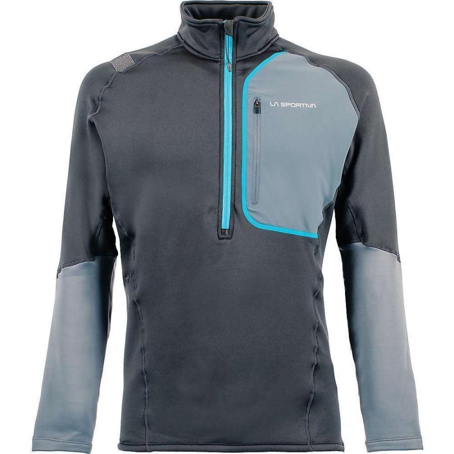 品質満点 ラスポルティバ La Sportiva メンズ フィットネス・トレーニング トップス millennium pullover Carbon/Slate, ヤエヤマグン 3e073822