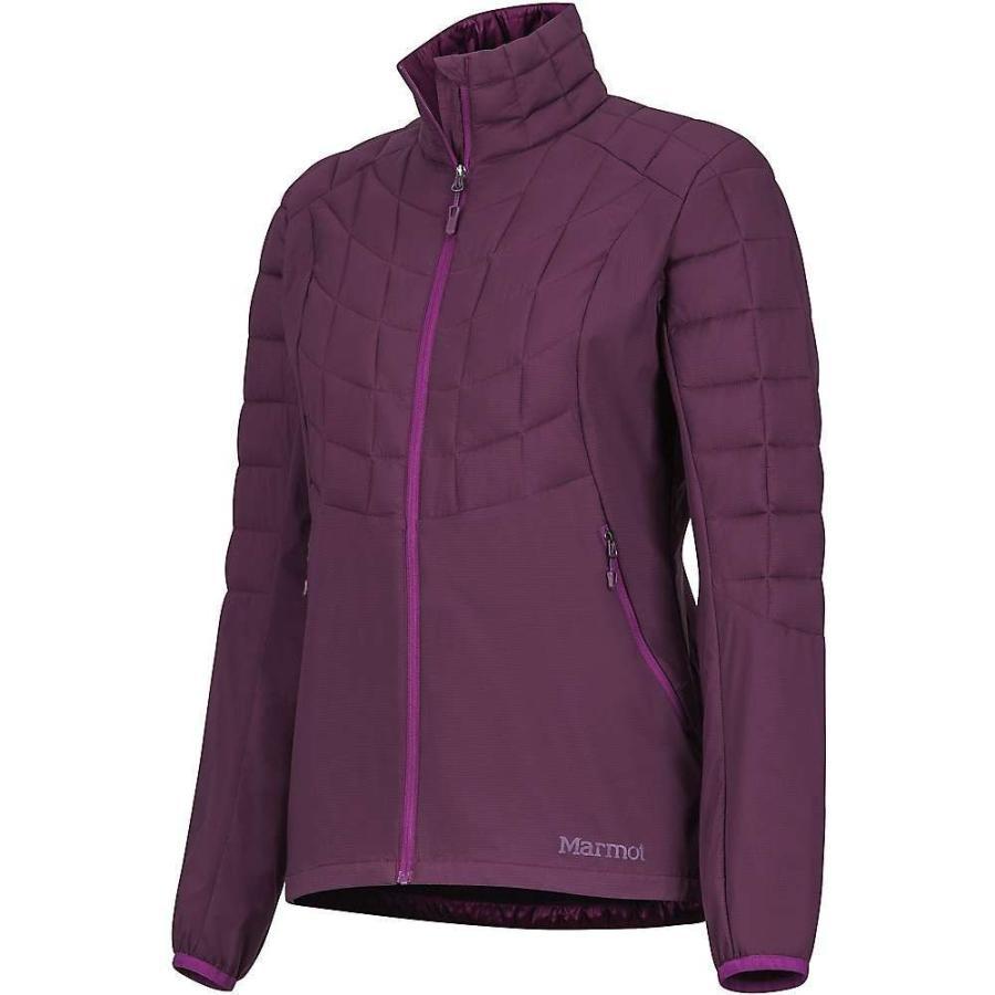 新素材新作 マーモット Purple Marmot レディース ジャケット ジャケット アウター Featherless Hybrid Jacket Jacket Dark Purple, 諏訪郡:7516bc1c --- sonpurmela.online
