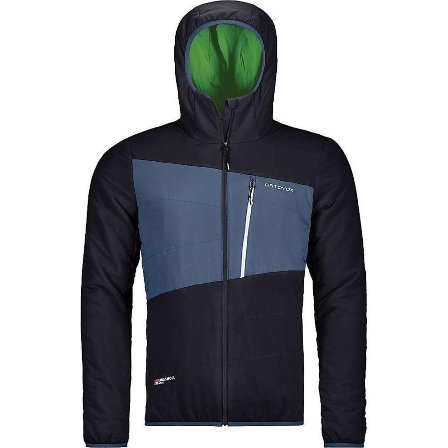 【日本限定モデル】 オルトボックス Ortovox メンズ スキー・スノーボード ジャケット アウター swisswool zebru jacket Black Raven, ギフトなごみや 195416e2