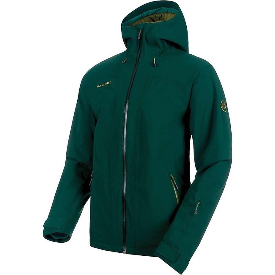 上等な マムート Mammut メンズ スキー・スノーボード フード ジャケット アウター andalo hs thermo hooded jacket Dark Teal/Clover, はんこキング(印鑑シャチハタ) 67d77257