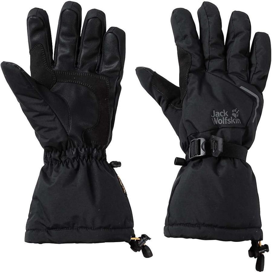 ジャックウルフスキン Jack Wolfskin ユニセックス グローブ スキー・スノーボード Texapore Exolight Glove 黒