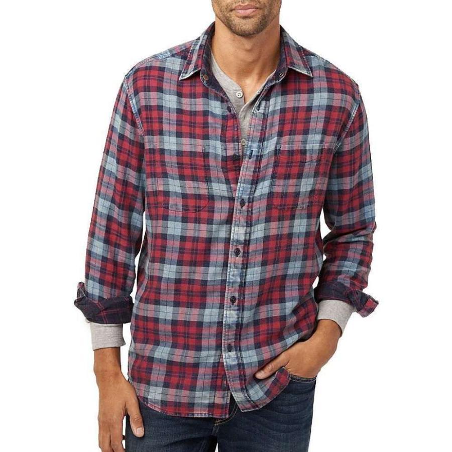 ファレティ Faherty メンズ ハイキング・登山 シャツ トップス Reversible Belmar Long Sleeve Shirt Vintage Red/Indigo