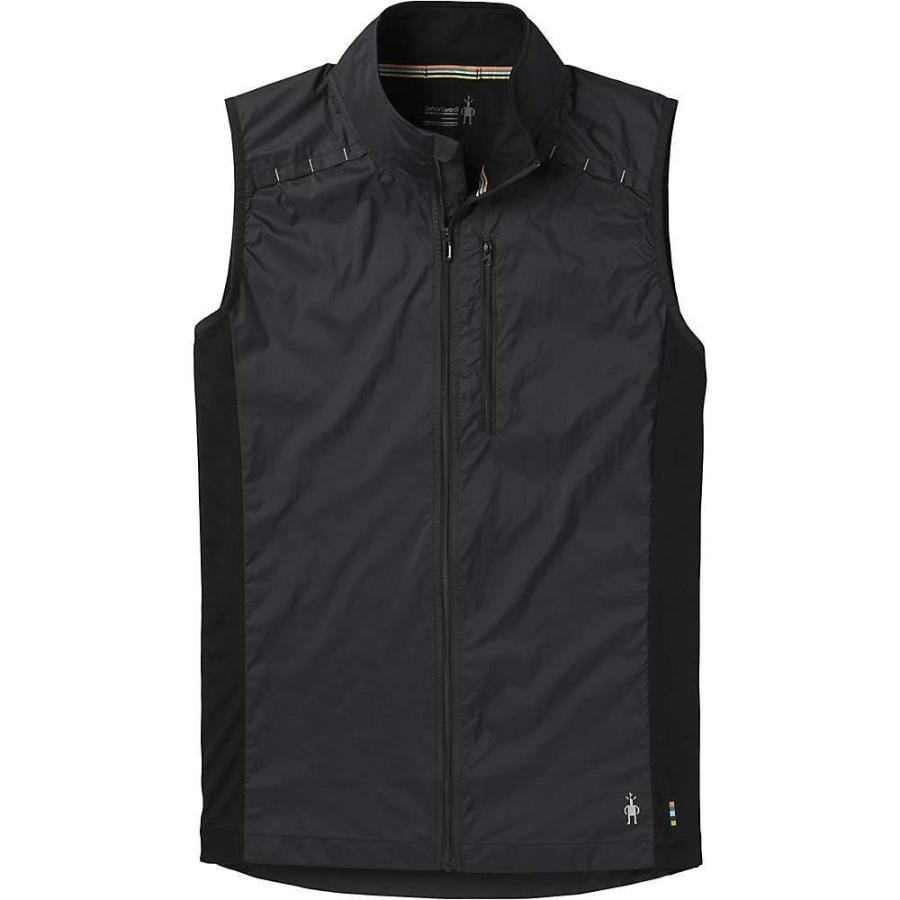 【2019春夏新作】 スマートウール Smartwool メンズ ランニング・ウォーキング ベスト・ジレ トップス merino sport ultra light vest Black, ヒガシヤマク 345fa013