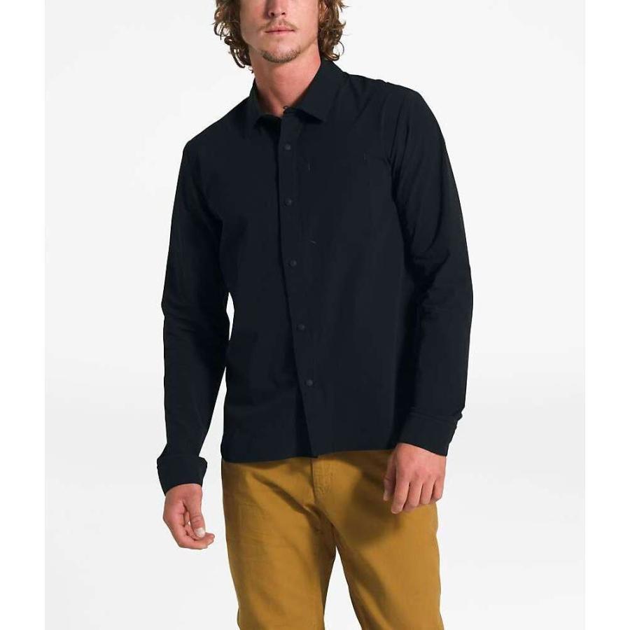ザ ノースフェイス The North Face メンズ ハイキング・登山 シャツ トップス North Dome LS Shirt TNF Black