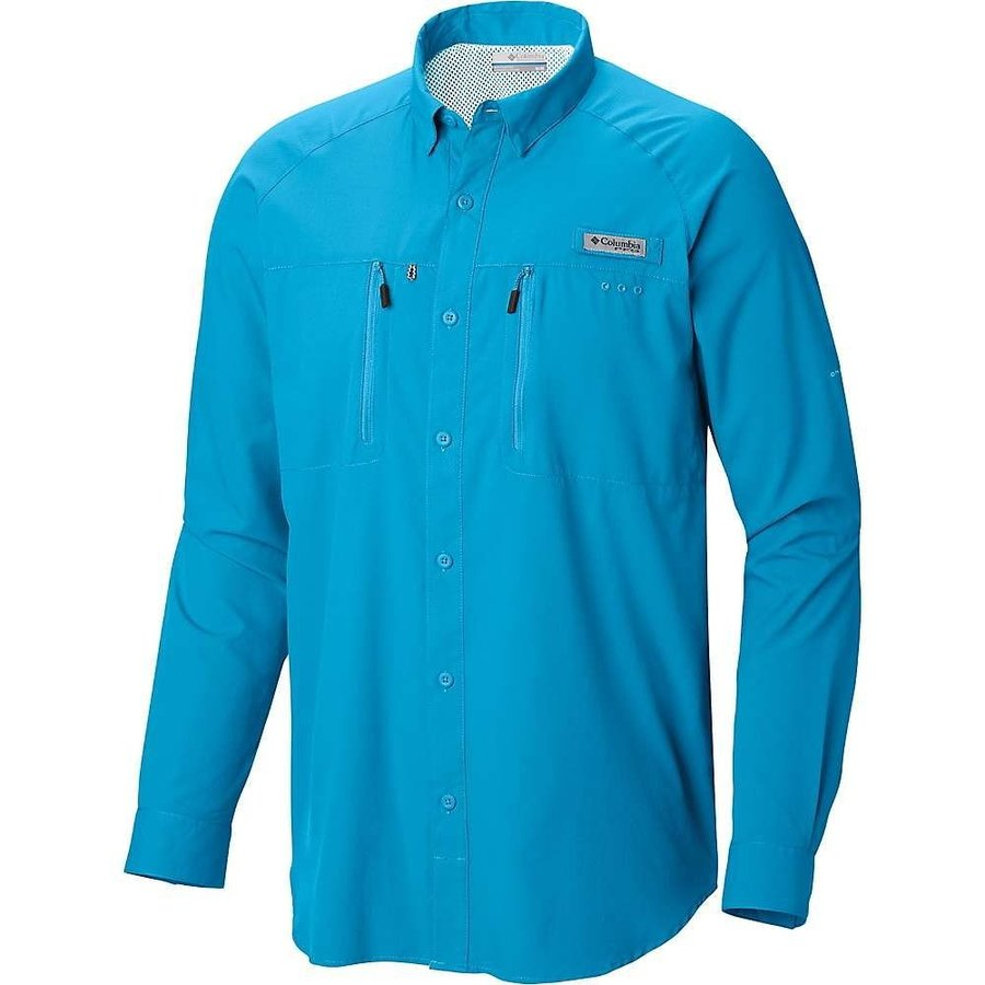 コロンビア Columbia メンズ トップス ハイキング・登山 Terminal Tackle LS Woven Shirt Riptide