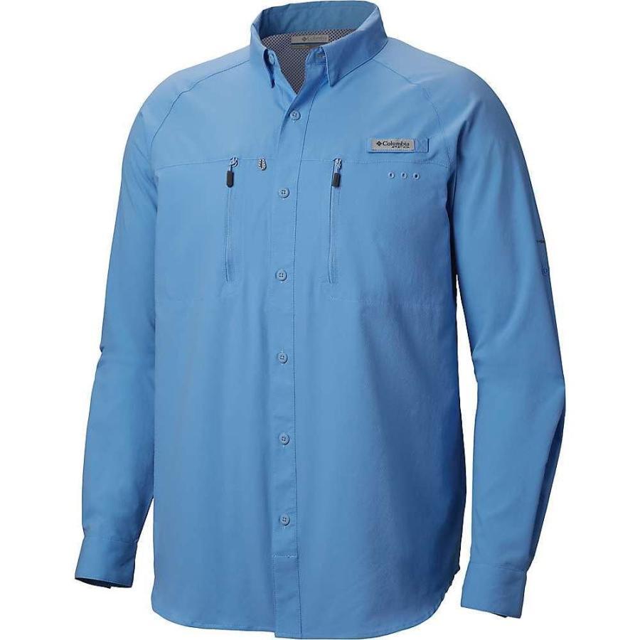 コロンビア Columbia メンズ トップス ハイキング・登山 Terminal Tackle LS Woven Shirt White Cap