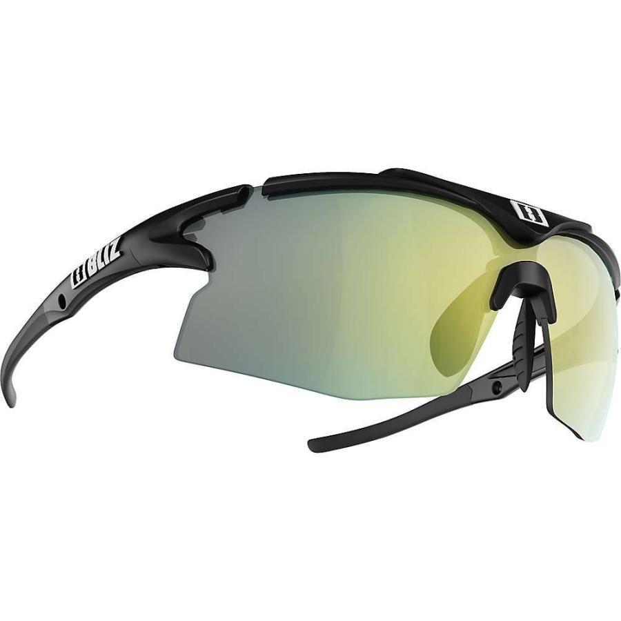 ブリッツ Bliz ユニセックス スポーツサングラス Tempo Sunglasses Matte 黒/褐色/ゴールド Multi