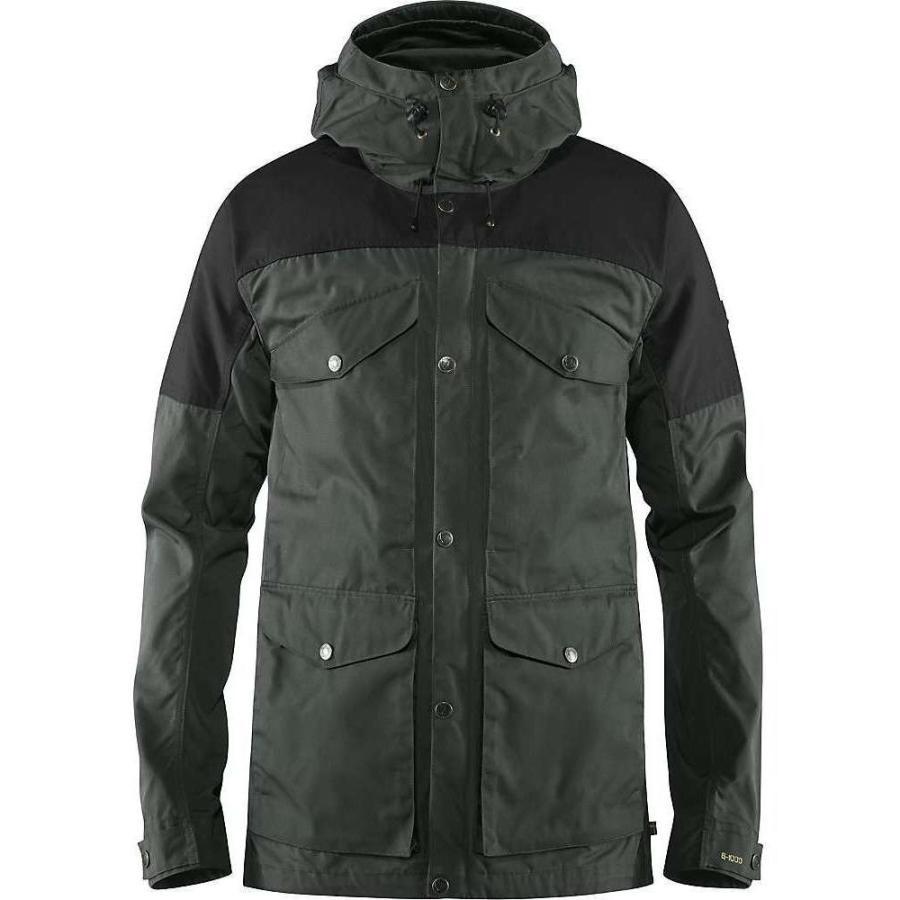 暮らし健康ネット館 フェールラーベン Fjallraven メンズ スキー・スノーボード ジャケット アウター vidda pro jacket Dark Grey/Black, ペットの専門店コジマ 6e27bfac