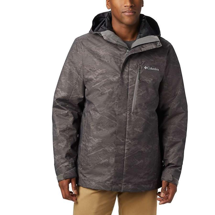 最新発見 コロンビア Columbia メンズ スキー・スノーボード ジャケット アウター whirlibird iv interchange jacket City Grey Mountains Jacquard Print, ミナトク 73b6b068