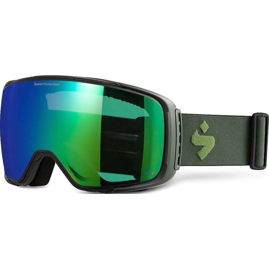 【超特価sale開催】 スイートプロテクション Sweet Protection ユニセックス スキー・スノーボード ゴーグル interstellar goggle Matte Olive Drab/RIG Emerald, VEROMAN 1d0e8099