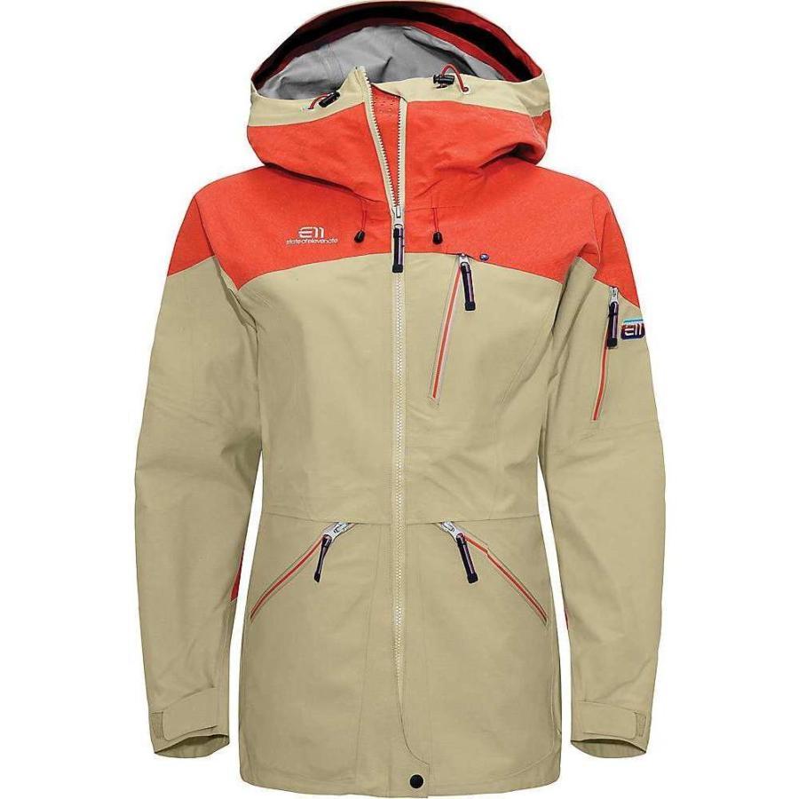 【メーカー再生品】 Elevenate レディース Twill スキー・スノーボード ジャケット ジャケット アウター backside jacket アウター Twill, カキザキマチ:a2adb11a --- airmodconsu.dominiotemporario.com